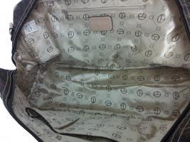 Foto 6 Neue Tasche Giulia Pieralli beige mit Doppelboden Shopper bag Shoppertasche praktische Tasche