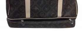 Foto 7 Neue Tasche Giulia Pieralli beige mit Doppelboden Shopper bag Shoppertasche praktische Tasche