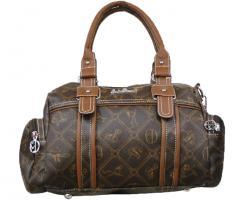 Neue Tasche von Giulia Pieralli, braune Handtasche Schultertasche