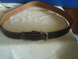 Neuer 2 Dorngürtel aus Leder