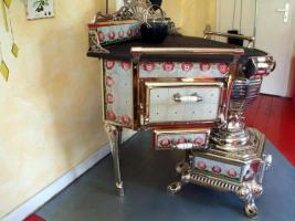 neuer preis antiker k chenherd jugendstil frankreich 1910 kohleherd antik in gelsenkirchen. Black Bedroom Furniture Sets. Home Design Ideas