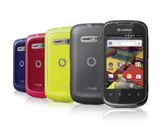 Neues Vodafone Smart 2 Glam Smartphone mit 3 Cover zu verkaufen!