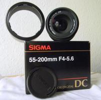 Neues Wechsel-Objektiv für Digitalkamera