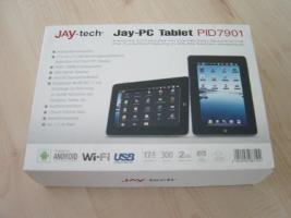 Neustart - OVP Jay-PC Tablet PID 7901 kompl. Neuwert 139, --