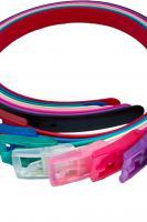 Neuster Trend 2013  Silikongürtel in verschiedene Farben