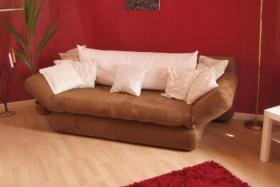 Neuw.Couch in Braun, Schlafcouch, sehr gem�tlich, in wuppertal an selbstabholer