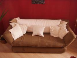 Foto 2 Neuw.Couch in Braun, Schlafcouch, sehr gem�tlich, in wuppertal an selbstabholer