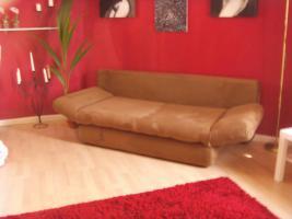Foto 5 Neuw.Couch in Braun, Schlafcouch, sehr gem�tlich, in wuppertal an selbstabholer