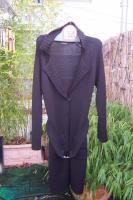 Neuwertige Black Dress Berlin Long Jacke