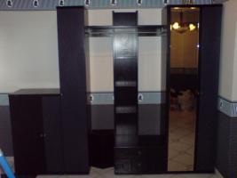 Foto 2 Neuwertige Garderobe in dunkelblau/schwarz, 250 €