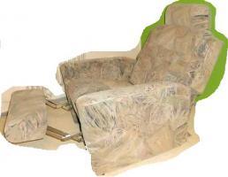Foto 3 Neuwertige Schlafcouch + verstellb. Fernsehsessel, Transport mögl.