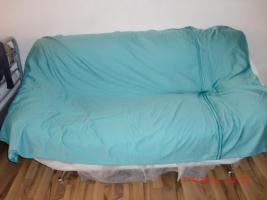 Foto 6 Neuwertige weiße Ledercouch/Sofa/Möbel/Garnitur/Sessel/Sitzmöbel/Polstermöbel