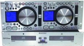 Neuwertiger Doppel-CD-Player von Omnitronic CDP 2400