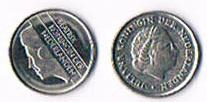 Niederlande 10 Cent Koningin Juliana und Beatrix .