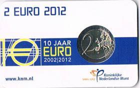 Foto 2 Niederlande 2 Euro Gedenkmünze '' 2012 '' ! !