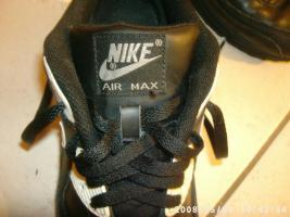 Foto 3 Nike Air Max schwarz Gr.38,5 wie neu Top Zustand