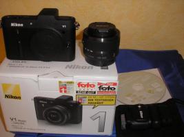 Foto 2 Nikon 1v1 Digitale Systemkamera neu, nur getestet günstig