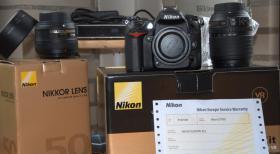 Nikon D 7000 mit Nikkor AF-S 18-105mm1:3,5-5.6 G ED und Nikkor AF-S 50f/1:1,8 G