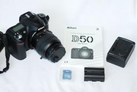 Foto 4 Nikon D50 + Nikon Objektiv 18-55 , neuwertig , Zubehör