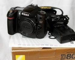 Nikon D80 10.2 Megapixel Digitalkamera