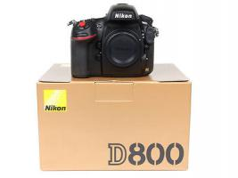 Nikon D800 Body (Gehäuse) NEU UND OVP + GARANTIE
