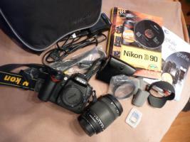 Nikon D90 inkl. Sigma 18-250 DC OS HSM