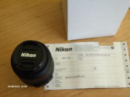 Foto 2 Nikon Objektiv DX 18-55mm AF-s Nikkor VR Neu originalverpackt