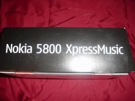 Foto 16 Nokia 5800 MusicXpress mit OVP+sehr guter Zustand + gepflegt