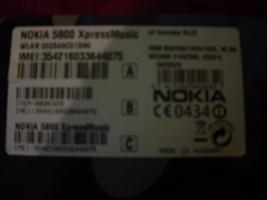 Foto 18 Nokia 5800 MusicXpress mit OVP+sehr guter Zustand + gepflegt