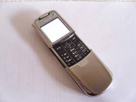 Nokia 8800 Edelstahl Handy silver edition -Versicherter Versand kostenlos!-