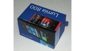 Nokia Lumia 800 Schwarz Neu Ovp ohne Vertrag