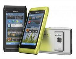 Nokia N8 dark grey