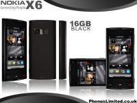 Nokia X6 Black 16 GB Nagelneu Und Offen
