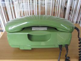 Foto 2 Nostalgie-Tastentelefon in grün