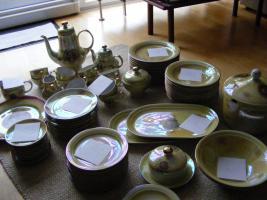 Nostalgie - Porzellangeschirr Kaffee- und Tafelservice