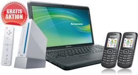 Notebook B550 + Wii + 2x E1080