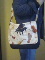 Foto 2 Noten Tasche Musikinstrumente