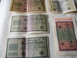 Notgeldscheine 1922/1923 Reichsbanknote