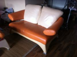 Foto 2 ! Notvekauf ! Kler Disigner Couch Echtes Leder 3-2-1