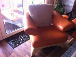 Foto 3 ! Notvekauf ! Kler Disigner Couch Echtes Leder 3-2-1