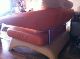 Foto 5 ! Notvekauf ! Kler Disigner Couch Echtes Leder 3-2-1
