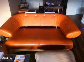 Foto 6 ! Notvekauf ! Kler Disigner Couch Echtes Leder 3-2-1