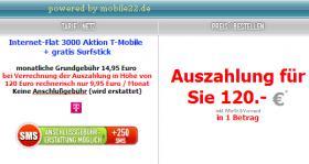 Nur 9,95 monatl. - Deutschlands wohl günstigste Notebook Datenflat mit Surf-Stick von T-Mobile (D1)