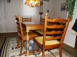 Foto 8 Nur an Selbstabholer biete Sofa Sessel, Stehlampe, Schrank, Esszimmer Tisch, Gasherd, Kleiderschrank