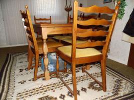 Foto 9 Nur an Selbstabholer biete Sofa Sessel, Stehlampe, Schrank, Esszimmer Tisch, Gasherd, Kleiderschrank