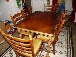 Foto 10 Nur an Selbstabholer biete Sofa Sessel, Stehlampe, Schrank, Esszimmer Tisch, Gasherd, Kleiderschrank