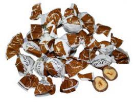 Nuß  mit Schokoladenüberzug