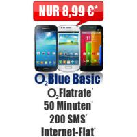 O2 Blue Basic 8,99 Handyvertrag Simkarte + Samsung Galaxy S3 mini