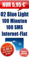 O2 Blue Light Aktion
