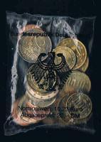 ORIGINAL EURO STARTERKIT Bundesrepublik Deutschland 2002 F Stuttgart Prägefrisch Bankfrisch .